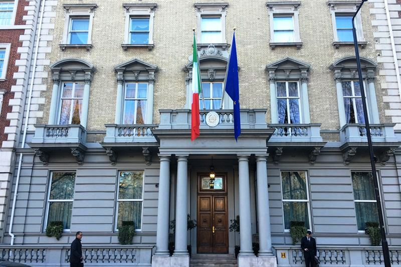 Embassy Of Italy In London