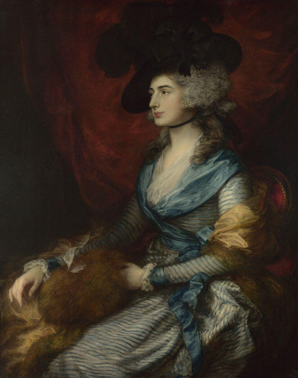 Mrs Siddons, Thomas Gainsborough, 1785 © The National Gallery, London