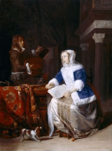 The Duet, Gabriel Metsu (c) National Trust, Image Christopher Hurst