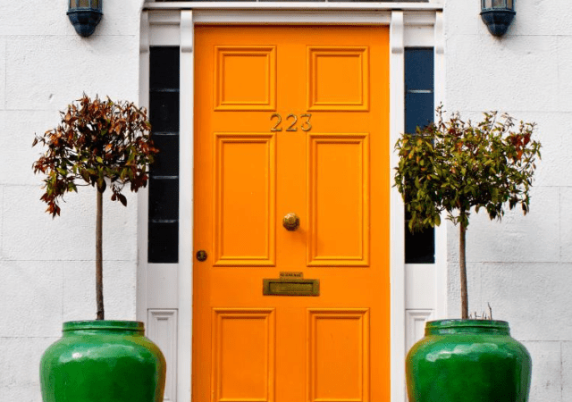 Flickr Orange Door