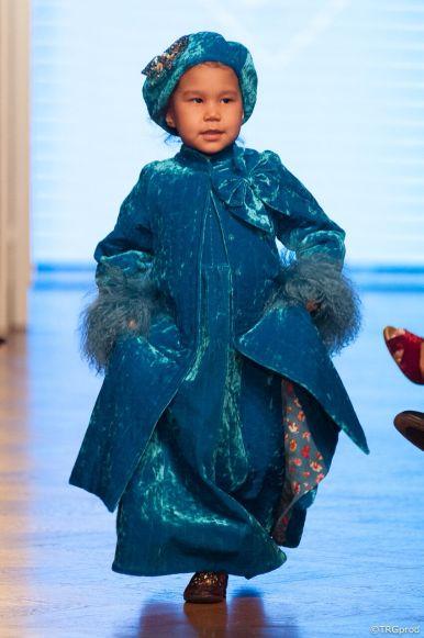 Aida Kaumenova at The Oriental Fashion Show