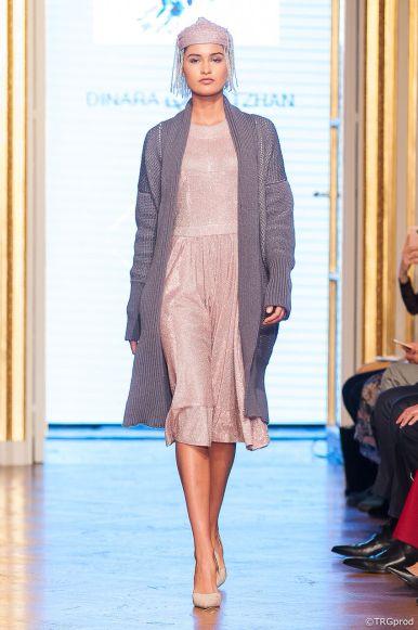 Dinara Satzhan at The Oriental Fashion Show