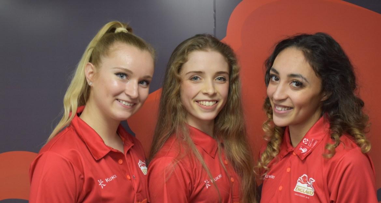 Team England Rhythmic Gymnasts