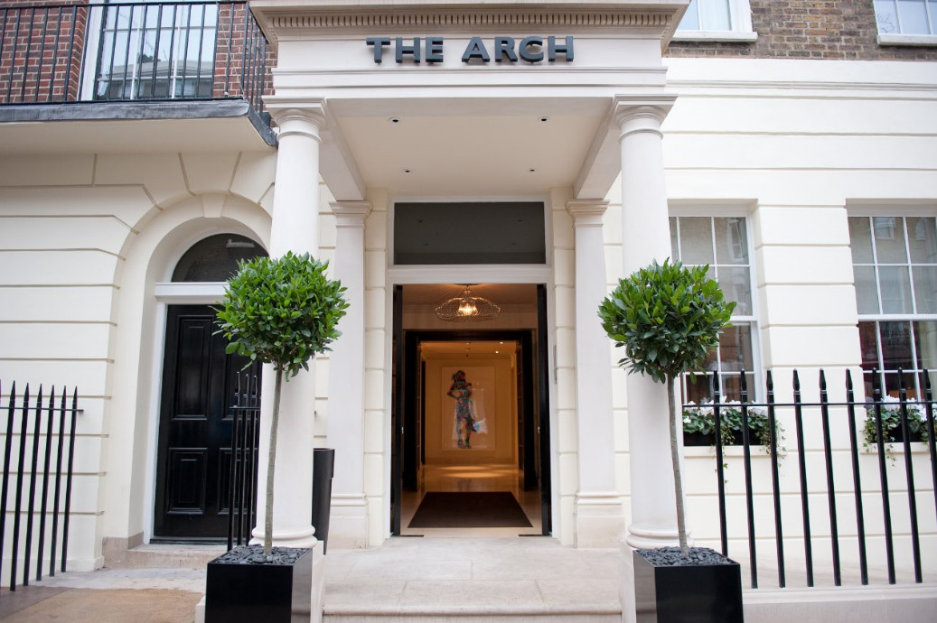 The Arch London Entrance