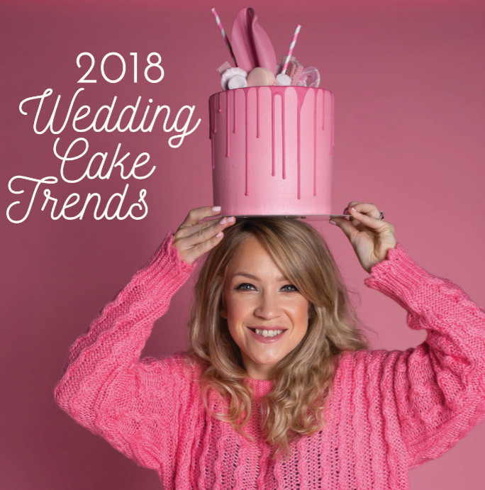 2018 wedding cake trends katie lake volcof