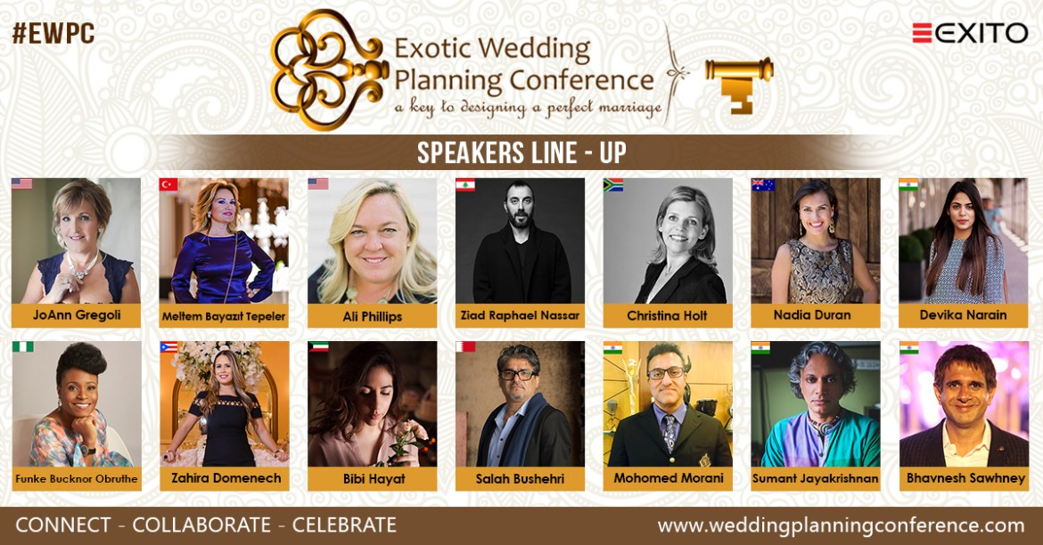 Exotic Wedding Planning Conference 2018