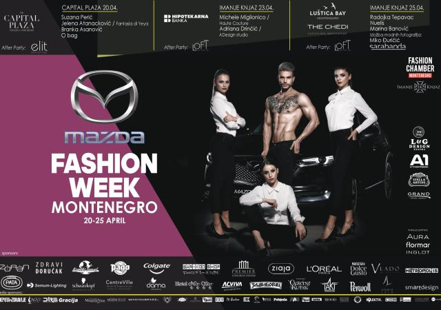 Mazda fashion week