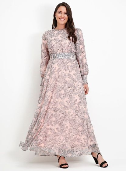 Modanisa ramadan trends 2018 alia plus size dress