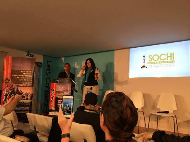 Sochi film festival & awards press conference