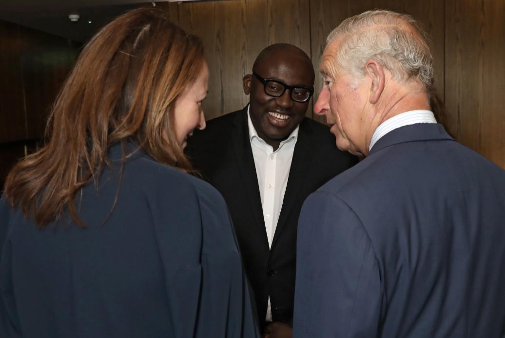 West city house royal visit 2 (darren gerrish, british fashion council)