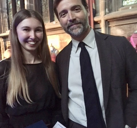 Freya with patrick grant