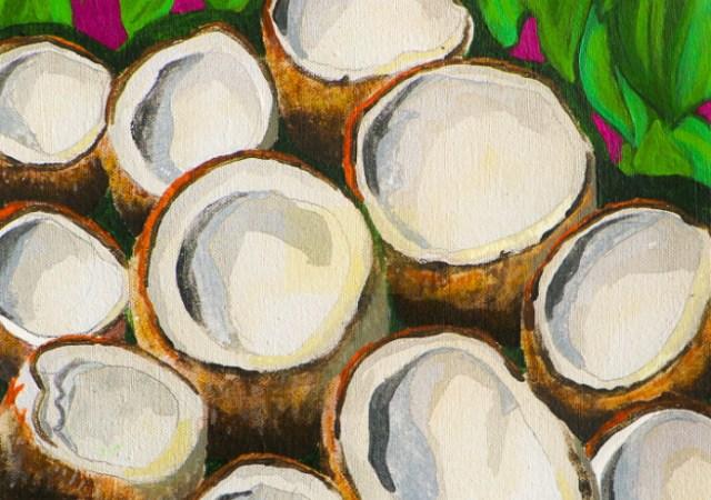 Frankie stew and harvey gunn coconuts