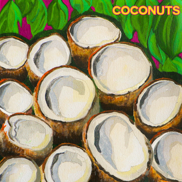 Frankie stew and harvey gunn coconuts