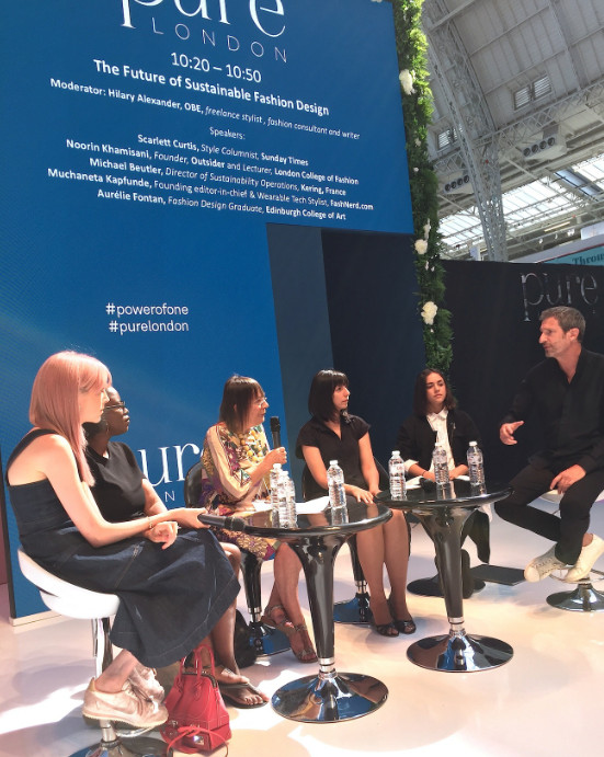 Hilary alexander's panel at pure london
