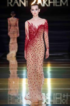 Rani zakhem couture collection automne hiver fall winter 2018 2019 pfw © imaxtree (10)