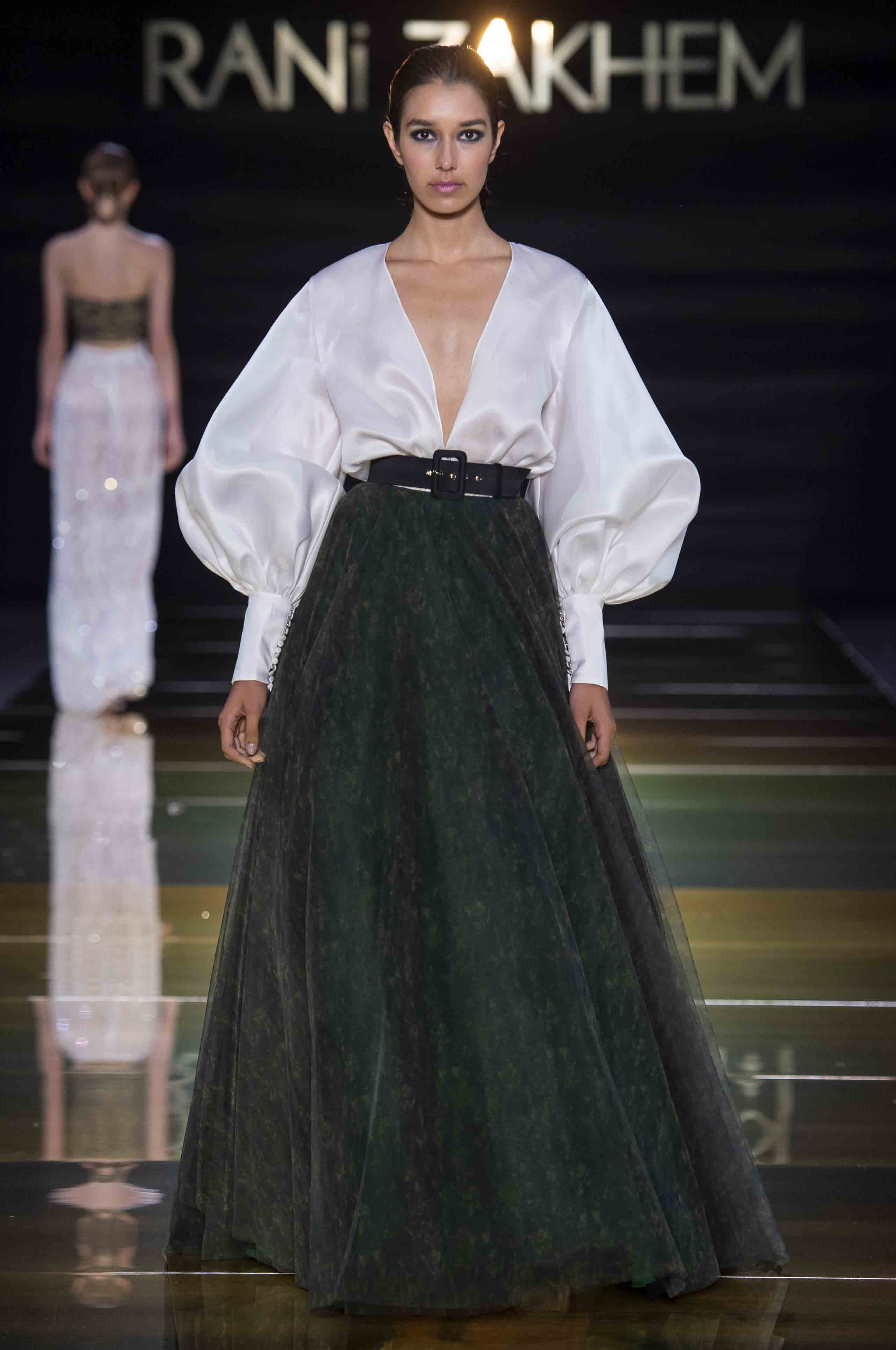 Rani zakhem couture collection automne hiver fall winter 2018 2019 pfw © imaxtree (12)
