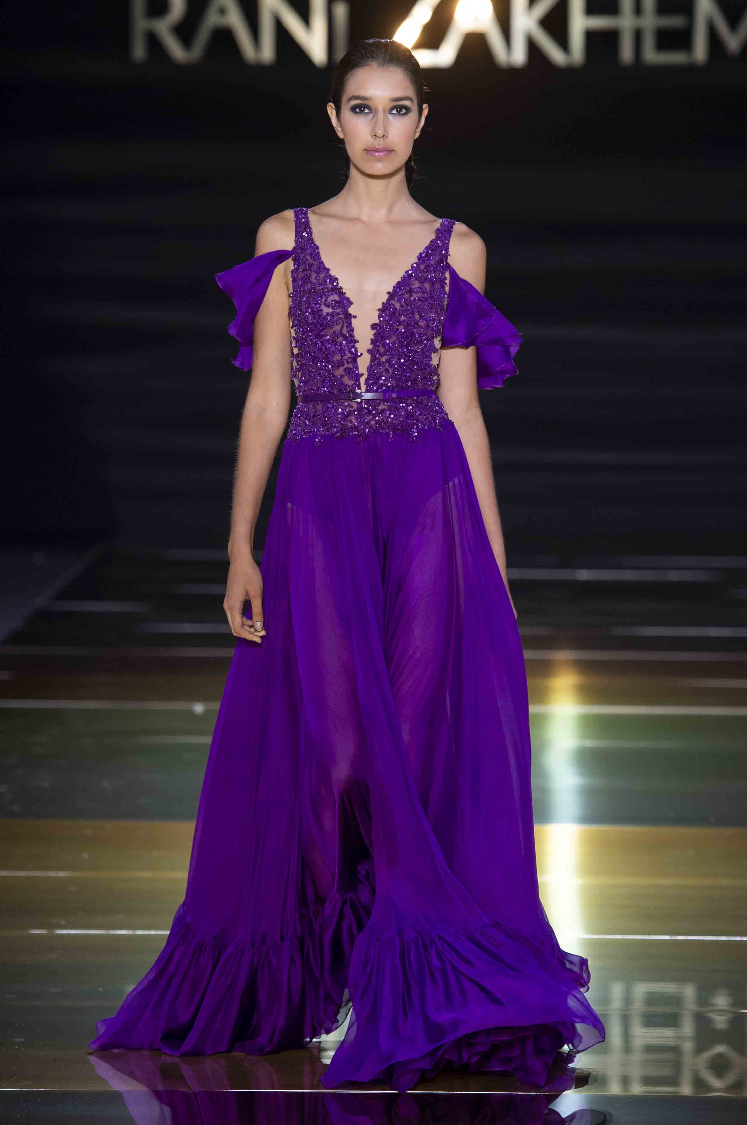 Rani zakhem couture collection automne hiver fall winter 2018 2019 pfw © imaxtree (18)