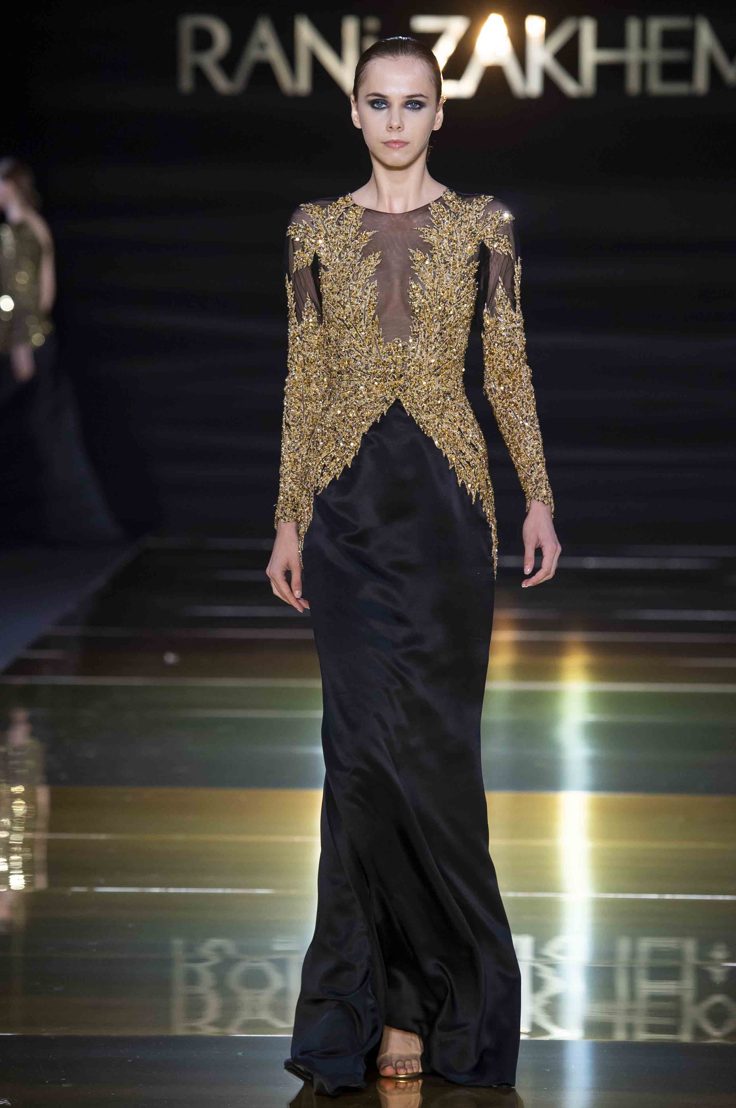 Rani zakhem couture collection automne hiver fall winter 2018 2019 pfw © imaxtree (22)