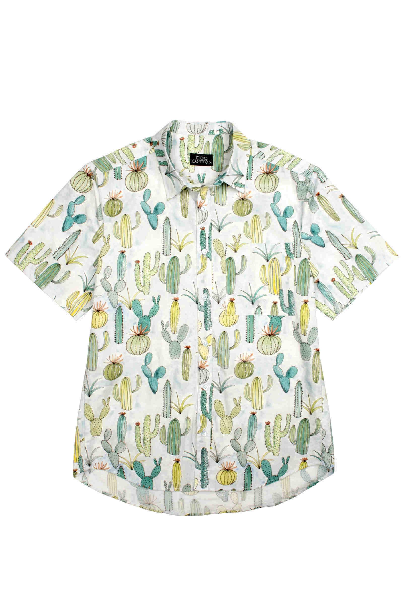 Men's short sleeved shirt
