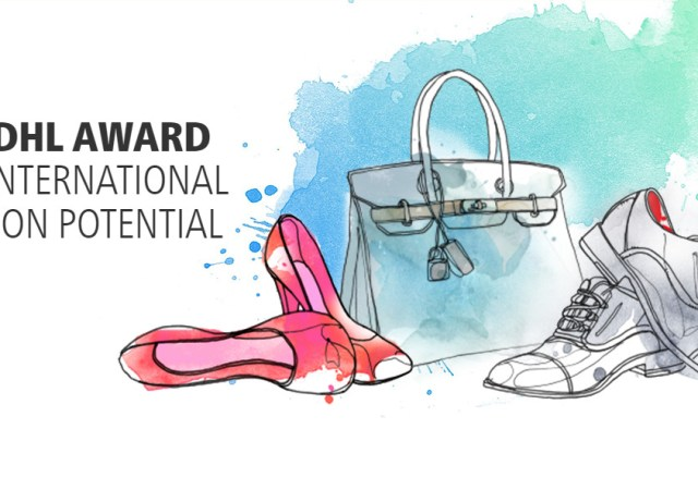 Dhl award for international fashion potential 2018
