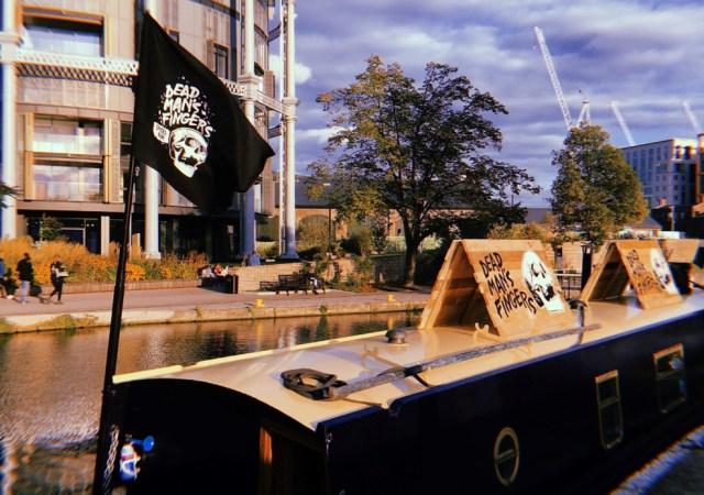 Dead man's fingers canal boat