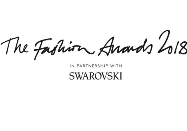 Fashion awards 2018