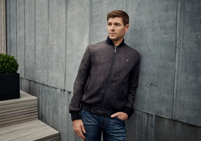 Steven gerrard presents sgg apparel