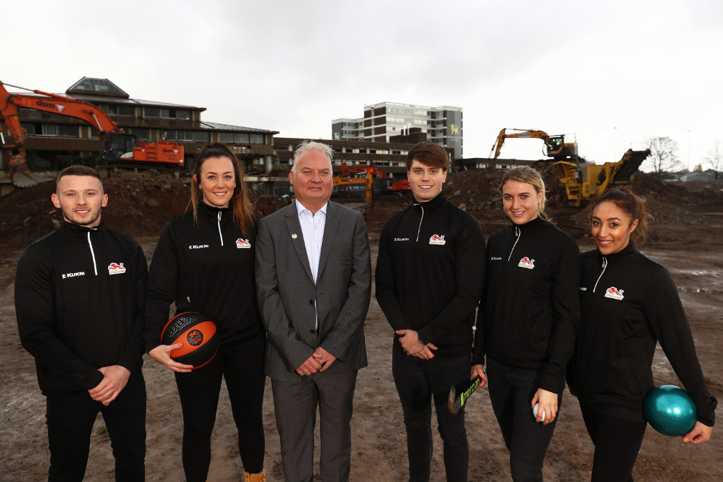 Team england birmingham 2022 athletes village