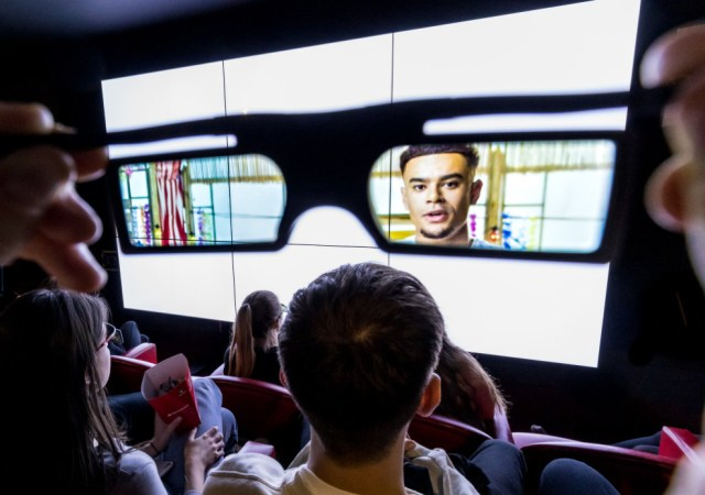 The world's first invisible cinema