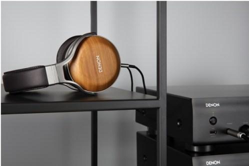 Wood headphones