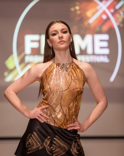 Dress yana flame couture