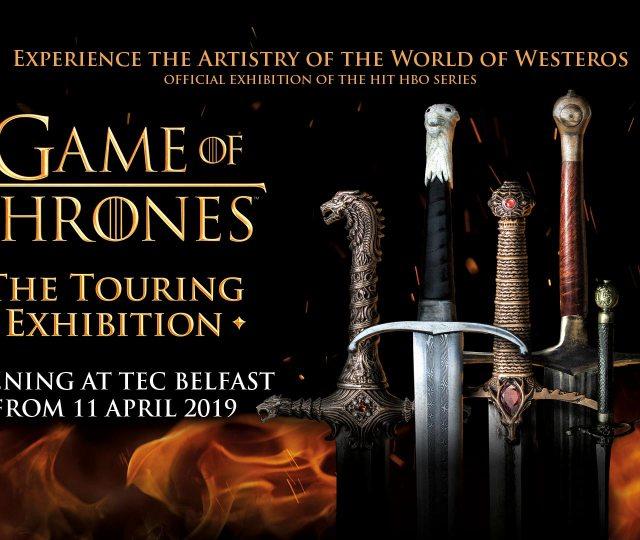 Game of thrones belfast swords