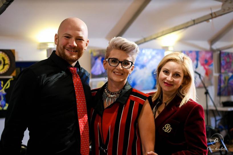 Judges igor tomaily,oxana mason and designer oksana kalinina