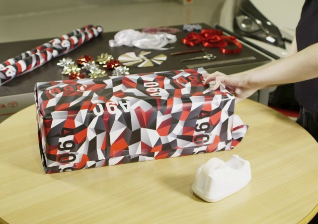 Toyota special supra wrapping paper