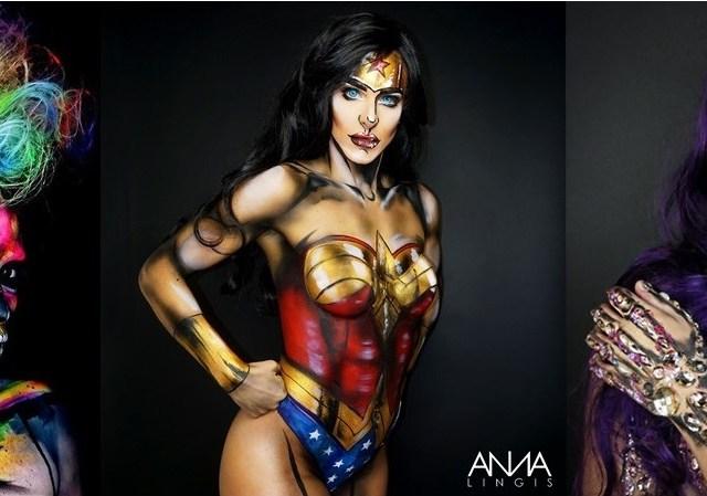 Anna lingis makeup artist
