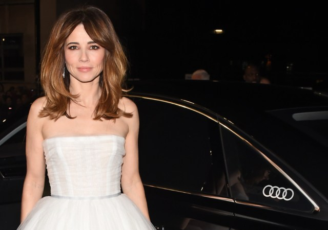 Linda cardellini arrives in an audi at the ee british academy film awards at the royal albert hall, london, sunday 10 february 2019