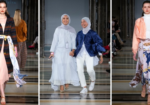 Mimpikita aw19 london fashion week