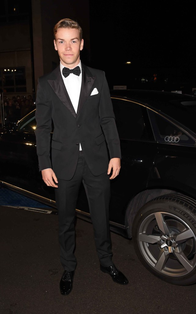 Will poulter arrives in an audi at the ee british academy film awards at the royal albert hall, london, sunday 10 february 2019 (2)