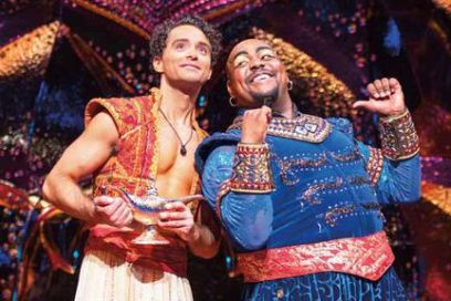 Aladdin the musical mystical magic in london