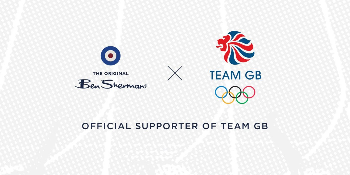 Ben sherman proudly announces partnership with team gb