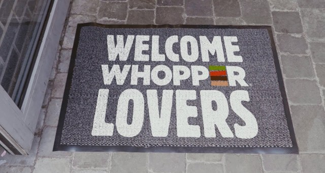 Burger king wants everyone to have a whopper of a day!