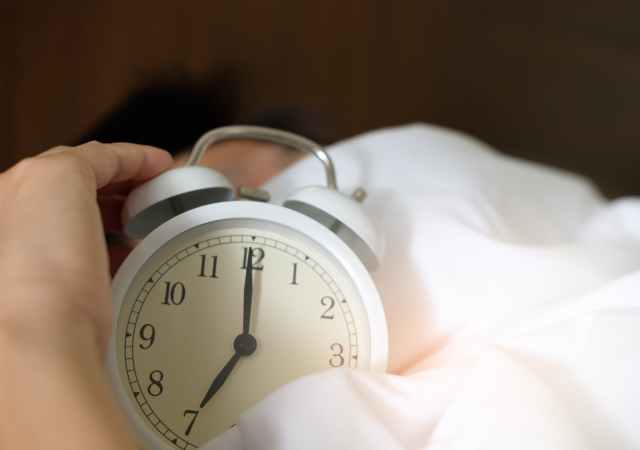 How to reset your body clock for a restful night's sleep