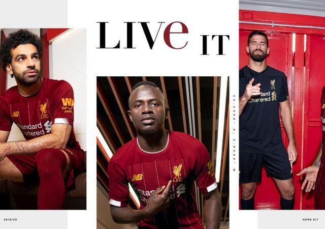 Reds unveil new bob paisley dedicated 2019 20 home kit