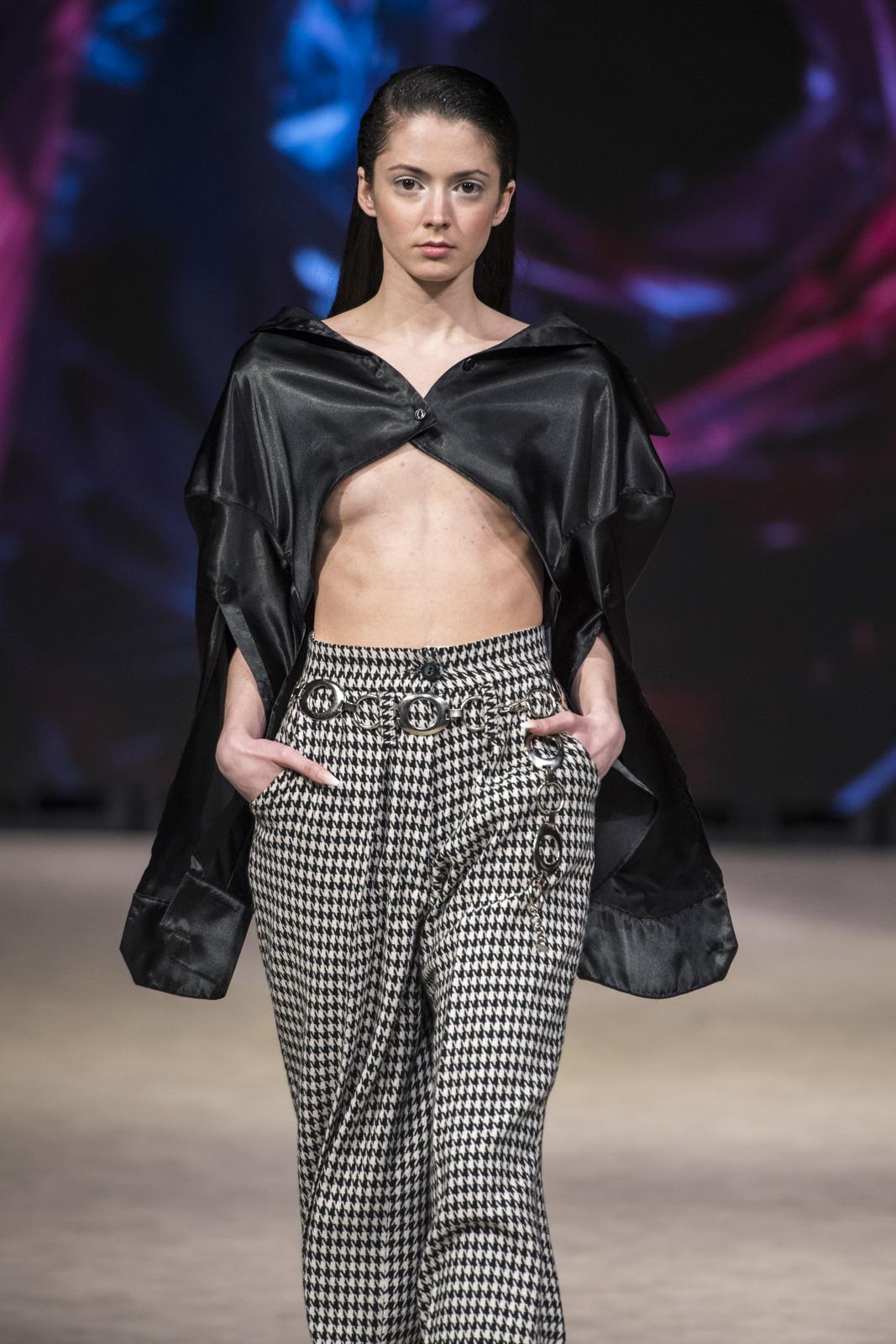 Ryan Li at Vancouver Fashion Week