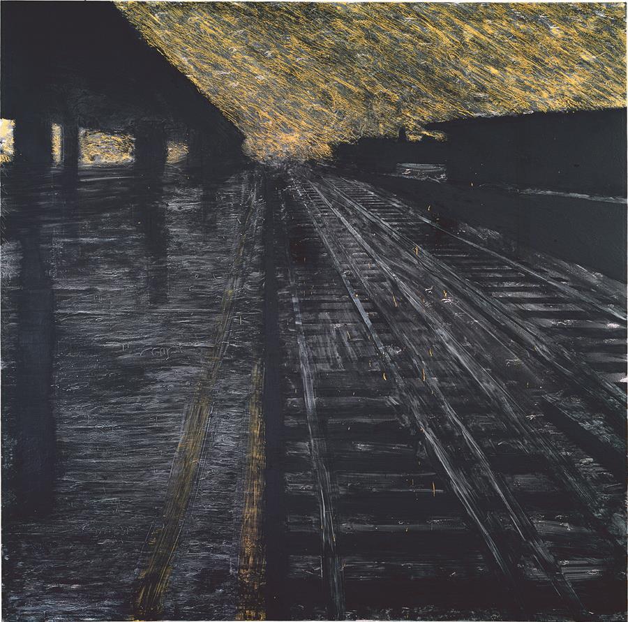 Donald Sultan - Dark Objects: works 1977-2019