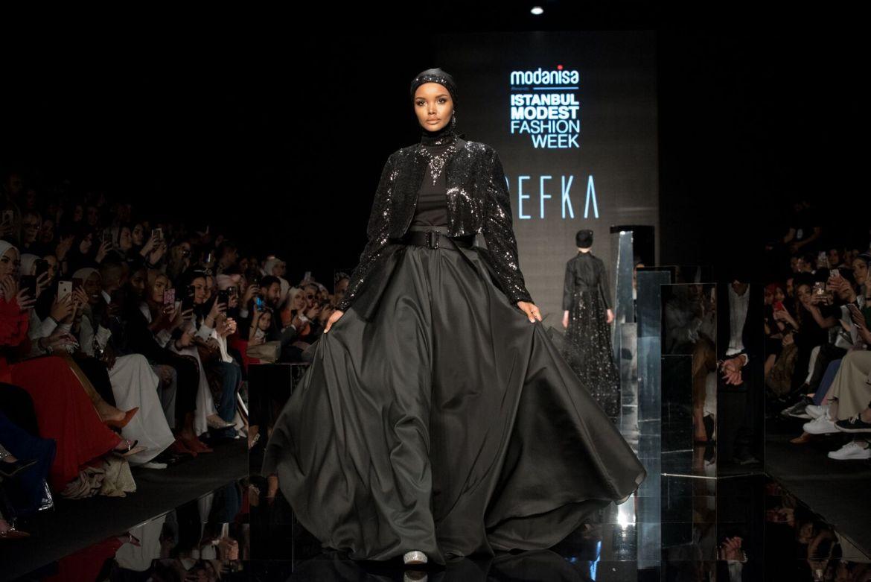 Refka at istanbul modest fashion week 2019 day 1