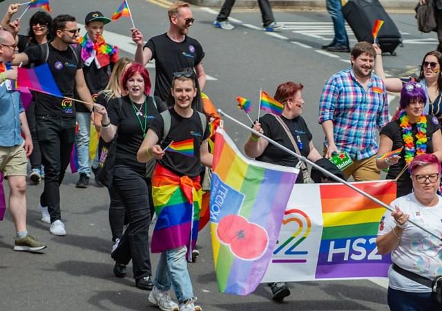Hs2 at birmingham pride 2