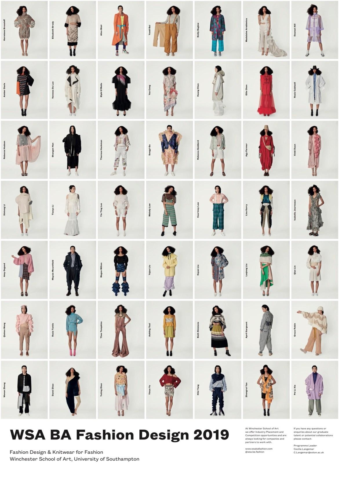 Wsa ba fashion design 2019