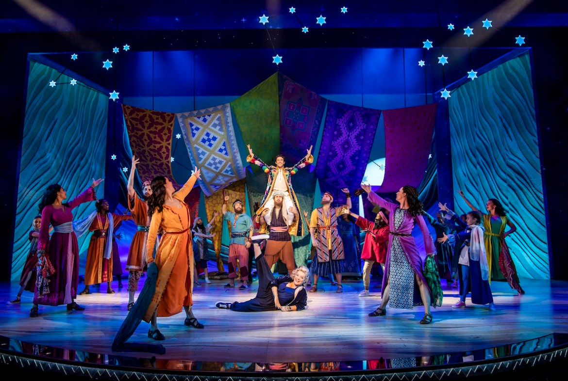 The company of joseph and the amazing technicolor dreamcoat photographer tristram kenton