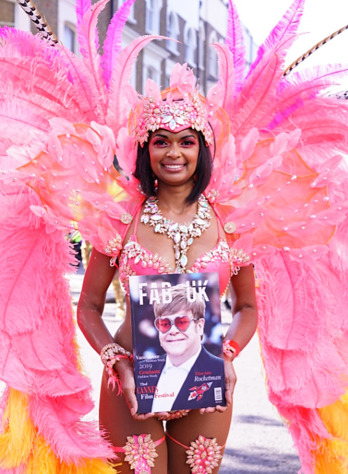 Notting hill carnival 2019 with with fabuk